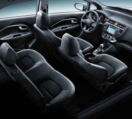 Kia Rio Sedan interior 1 ua