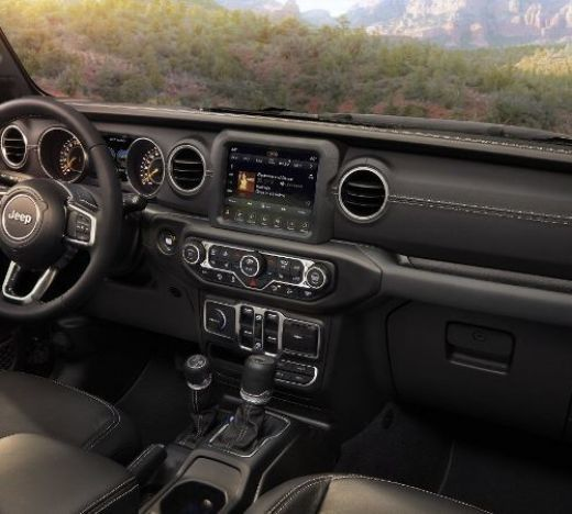 Jeep Wrangler interior 1 ua
