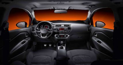 Rio Hatchback 3-door NEW interior 3