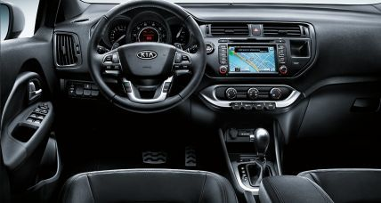 Kia Rio Sedan interior 2 ua