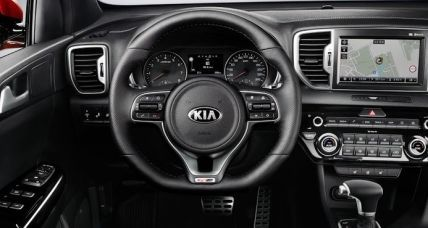Kia Sportage New interior 3