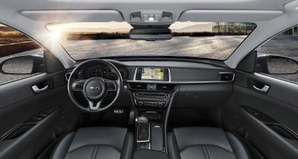 Kia Optima interior 3