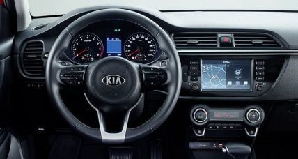 KIA RIO SEDAN NEW interior 2