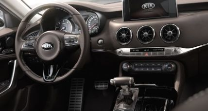 Kia Stinger interior 2