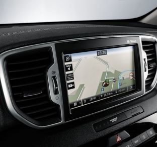 Kia Sportage New interior 6