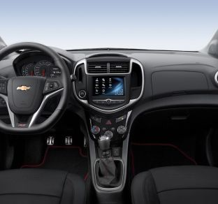 Chevrolet Aveo Sedan FL interior 5