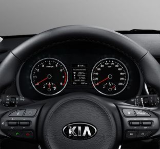 Kia Rio Hatchback NEW interior 5 ua