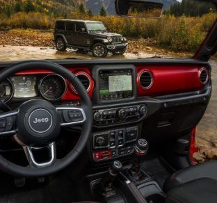 Jeep Wrangler interior 5 ua