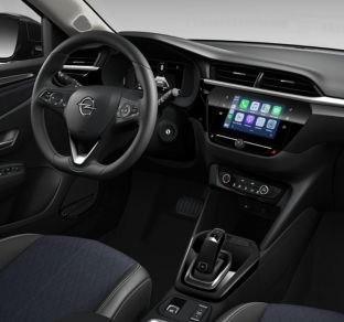 New Opel Corsa interior 6 ua