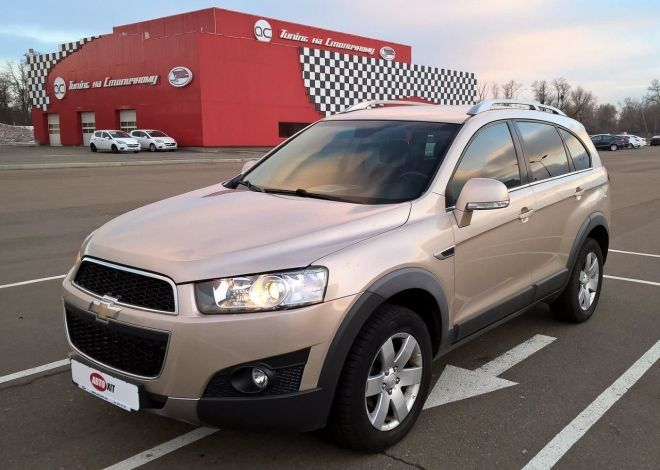 Trade-In CHEVROLET CAPTIVA 2012 ua