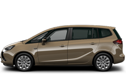 Zafira Tourer Opel preview