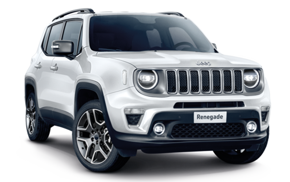 Jeep Renegade banner auto