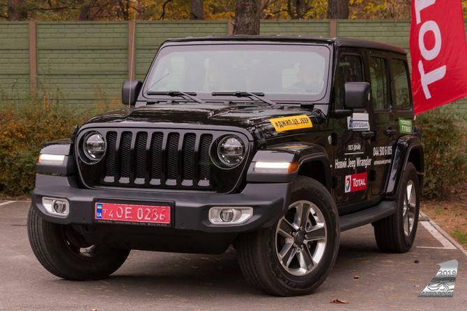 Jeep Wrangler - Автомобиль 2019